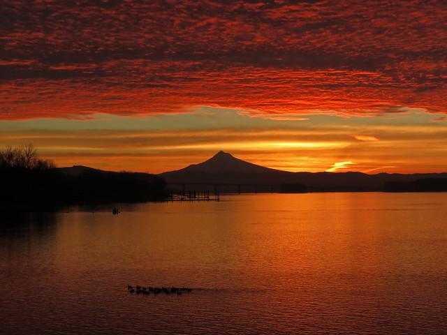 vancouver washington sunset